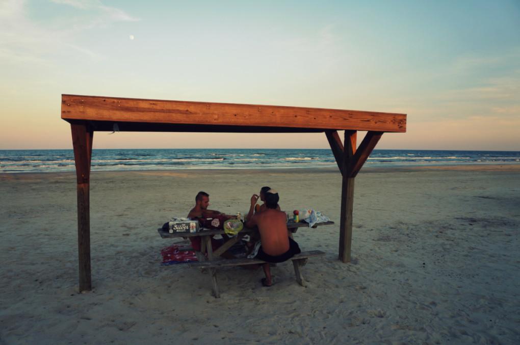 stanovanie-na-plazi-USA-Texas-padre-island